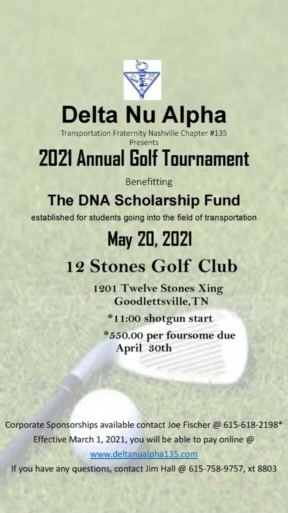 2021 Annual Golf Tournament
